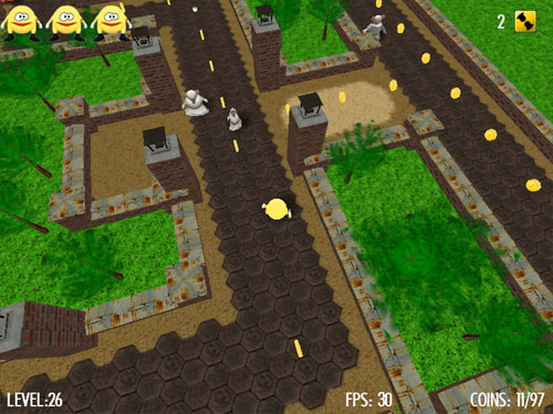 Pacco Quest 3D Screenshot