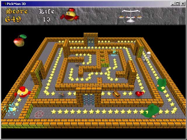 Pac-man: adventures in time download (2000 puzzle game).
