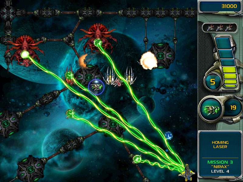 Star Defender 3 space shooter game screenshot 1