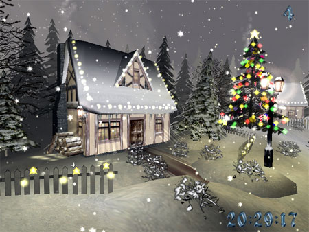 Christmas Time.Christmas Time 3d Screensaver