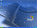 Animated Snowflakes Screensaver - desktop xp